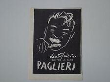 advertising Pubblicità 1948 DENTIFRICIO PAGLIERI