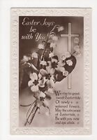 Easter Joys Be With You Real Photo Greetings Postcard, A857
