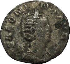 SALONINA daughter in law of Valerian I RARE Silver Roman Coin JUNO Cult   i34152