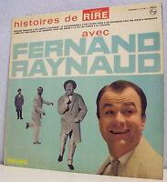 """33 tours Fernand RAYNAUD Vinyle LP 12"""" Coll. HISTOIRE De RIRE - PHILIPS 77700"""