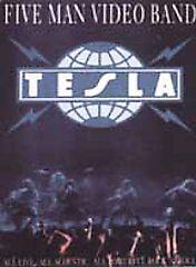 Tesla - Five Man Video Band (DVD, 2002)