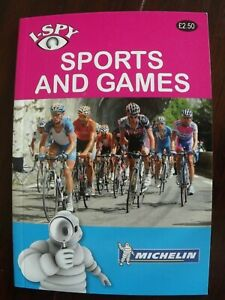 Michelin I-Spy Sports and Games Book P/Back
