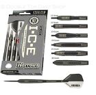 Harrows Black ICE 90% Tungsten Steel Tip Darts - 21g, 22g, 23g, 24g, 25g and 26g