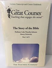 New – The Story of the Bible:Teaching Co. Great Courses – 2 Book set
