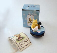 Midwest of Cannon Falls Hinged Box Classic Pooh Pooh & Piglet Umbrella Ride Phb