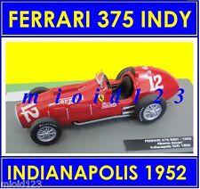 1/43 - FERRARI 375 INDY : Alberto ASCARI - INDIANPOLIS 1952 - Die-cast