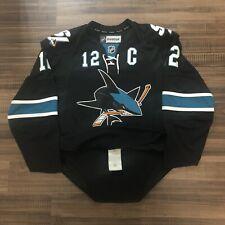 Reebok Edge 2.0 Authentic San Jose Sharks NHL Hockey Jersey Black Alternate 50