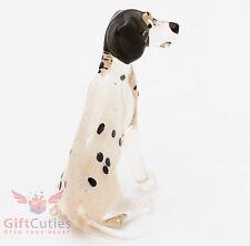 Art Blown Glass Figurine Of The Dalmatian Dog