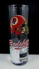 Vintage Washington Redskins NFL Shot Glass Tall Sports Souvenir Back Lined
