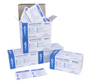 Romed Medical Alkoholtupfer Alkoholpads | 65 x 30 mm 2-lagig | zur Desinfektion
