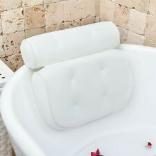 Home Spa Bathtub Pillow Bubble Bath Pillows for Tub Neck and Back Support
