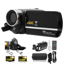 28MP 4K WIFI Digital Video Camera 16X Zoom Camcorder Night Vision Touch Screen