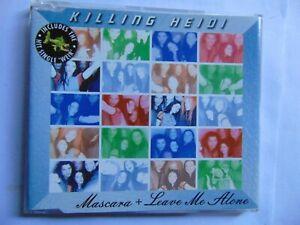 Killing Heidi - Mascara & Leave Me Alone - CD single - FREE POST
