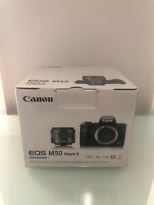 Canon EOS M50 Mark II (15-45mm) Mirrorless Camera