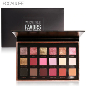 Focallure 18 Colour Eye Shadow Palette (02)