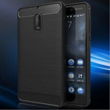 Carbon Fiber Hybrid Heavy Duty Case Cover For Nokia 3 5 6 8