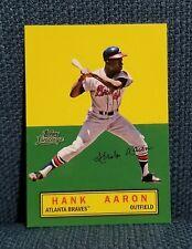 Hank Aaron 2011 Topps Lineage Stand Ups Card Atlanta Braves