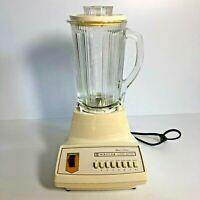 Vintage MCM WARING NOVA 1 Series 8 Push Button Blender Cream EUC 52 Model 1 293