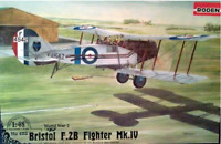 Roden 428 - Bristol F.2B Fighter MK. IV - 1/48 scale model airplane kit 164 mm