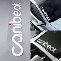CANIBEAT Hellaflush Graphic Car Windshield Vinyl Decal Sport Sticker Accessories