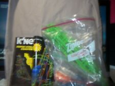 K'NEX  Super Cyclone Coaster 50063 MISSING 6 PIECES INSTRUCTIONS INCLUDED
