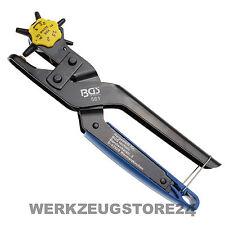 BGS Profi-Revolverlochzange mit Hebelübersicht - 561- Lochzange, Lederzange