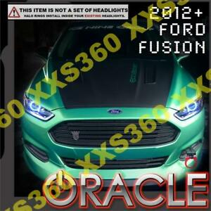 ORACLE Headlight HALO RING KIT for Ford Fusion 12-17 WHITE LED