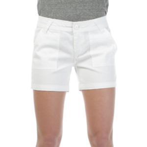 NWT Prana White Stretch Cotton Shorts Size 2