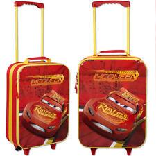 Kindertrolley Cars Handgepäck Trolley Kinder Gepäck Tasche Koffer Reise rot NEU