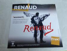 RENAUD - L'ALBUM LIVE 2017 !!!!!!!!!!!!!!!!PLV 30 X 30 CM !!DISPLAY
