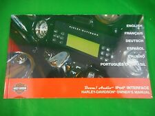 HARLEY DAVIDSON BOOM AUDIO iPOD INTERFACE OWNERS MANUAL OEM 94000010