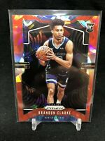 2019-20 Prizm BRANDON CLARKE #266 RED Cracked ICE Rookie Card RC Grizzlies L00
