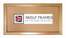 SKELF FRAMES - CHAMPAGNE GOLD ~ PANORAMIC PICTURE PHOTO POSTER FRAME with GLASS