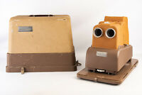 Vintage Sawyer's View Master Stereo Matic 500 Projector w Case Cover TESTED V13