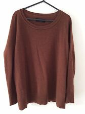 All Saints Cashmere Brown Jumper Size XS