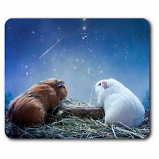 Computer Mouse Mat - Cute Guinea Pig Funny Love Office Gift #2036
