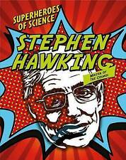 Stephen Hawking: Master of the Cosmos (Superheroes of Science)-ExLibrary