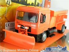 MAN F2000 MODEL TRUCK 1:43 SCALE SNOW PLOUGH GRITTER LORRY NEW RAY ORANGE K8
