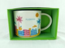 Starbucks Florida You Are Here Collection 14 fl. oz. New Yellow Inside