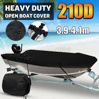 AU 3.9m-4.1m Trailerable Marine Grade Heavy Duty Open Boat Cover Waterproof  //
