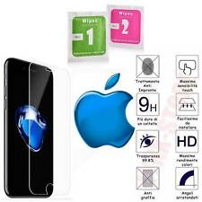 Pellicola vetro temperato X iPhone 4/5/5s/6/6s/7/8/X/XR/11/12/SE/Plus protezione