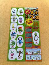 Sticker Sammelsticker Anime Stickerbogen Pokemonsticker Kids Zone Mogelbaum
