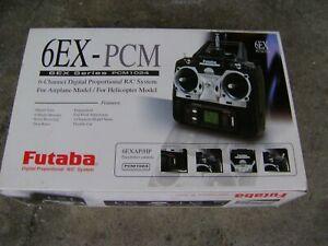 Futaba 6EX-PCM1024 Digital Radio System Transmitter RC Toy Airplane Helicopter