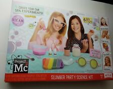 Project Mc2 Slumber Party Science Kit Create Your Own Spa Experiments New In Box