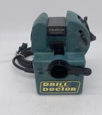 Drill Doctor DD500 500 Tradesman Bit Sharpener Tested No Chuck