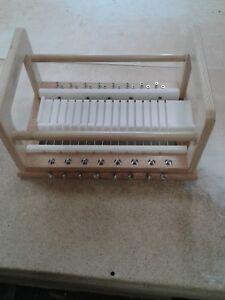 "16 Bar Wire Soap Cutter 3/4"" handmade wooden soap cutter/soap loaf cutter HDPE"