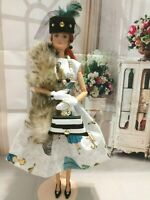 OOAK HANDMADE DOLL CLOTHES FASHIONISTA LADY DESIGN OUTFIT DRESS SET #2