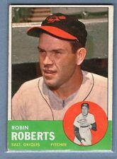 1963 Topps #125 Robin Roberts (HOF) VG-EX Set Break