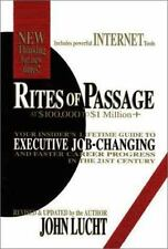 Rites of Passage at $100,000 to $1 Million+: Your Insider's Lifetime Guide to Ex