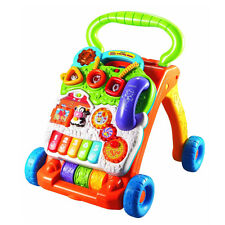 VTech Sit-to-Stand Learning Walker Baby Infant Development Crawl Toy First Steps